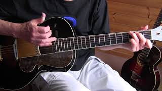 Fingerpicking Blues Lesson - St Louis Blues - Big Bill Broonzy style - TAB available