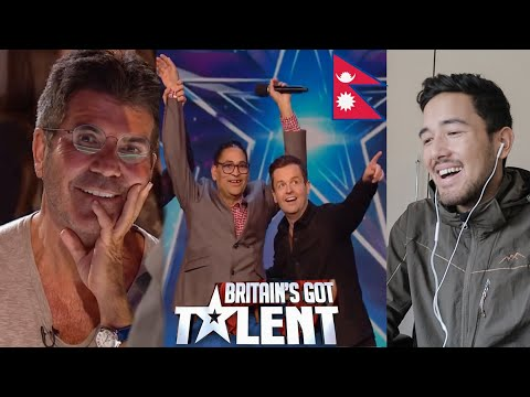 Nepali Singer in Britain's Got Talent 2020 | Bhim Niraula | Sandip Karki