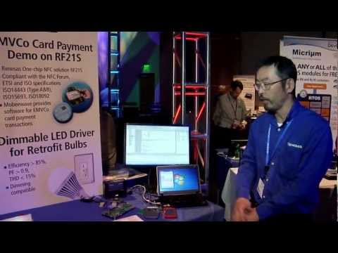 Renesas DevCon 2012: NFC Nearfield Communication Payment Systems