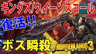 Borderlands3【ボーダーランズ3】復活‼ボス瞬殺‼【キングズ/クイーンズコール】フラック専用武器‼part383