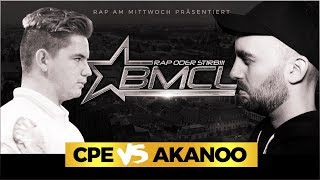 BMCL RAP BATTLE: CPE VS AKANOO (BATTLEMANIA CHAMPIONSLEAGUE)