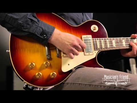 Gibson Custom 1958 Les Paul Standard Historic Reissue VOS Plaintop Bourbonburst