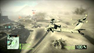 Battlefield Bad Company 2 - Online and Helicopter Gameplay