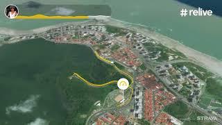 PERCURSO DA CORRIDA DA LAGOA 2017-  'CAMINHADA 3K'