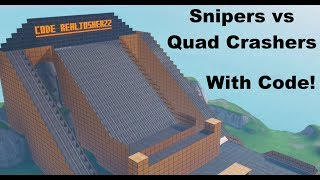 Snipers vs Quad Crashers - Fortnite Map Download (With Code)