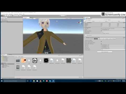 Original How to use MMD models in Unity and VRChat