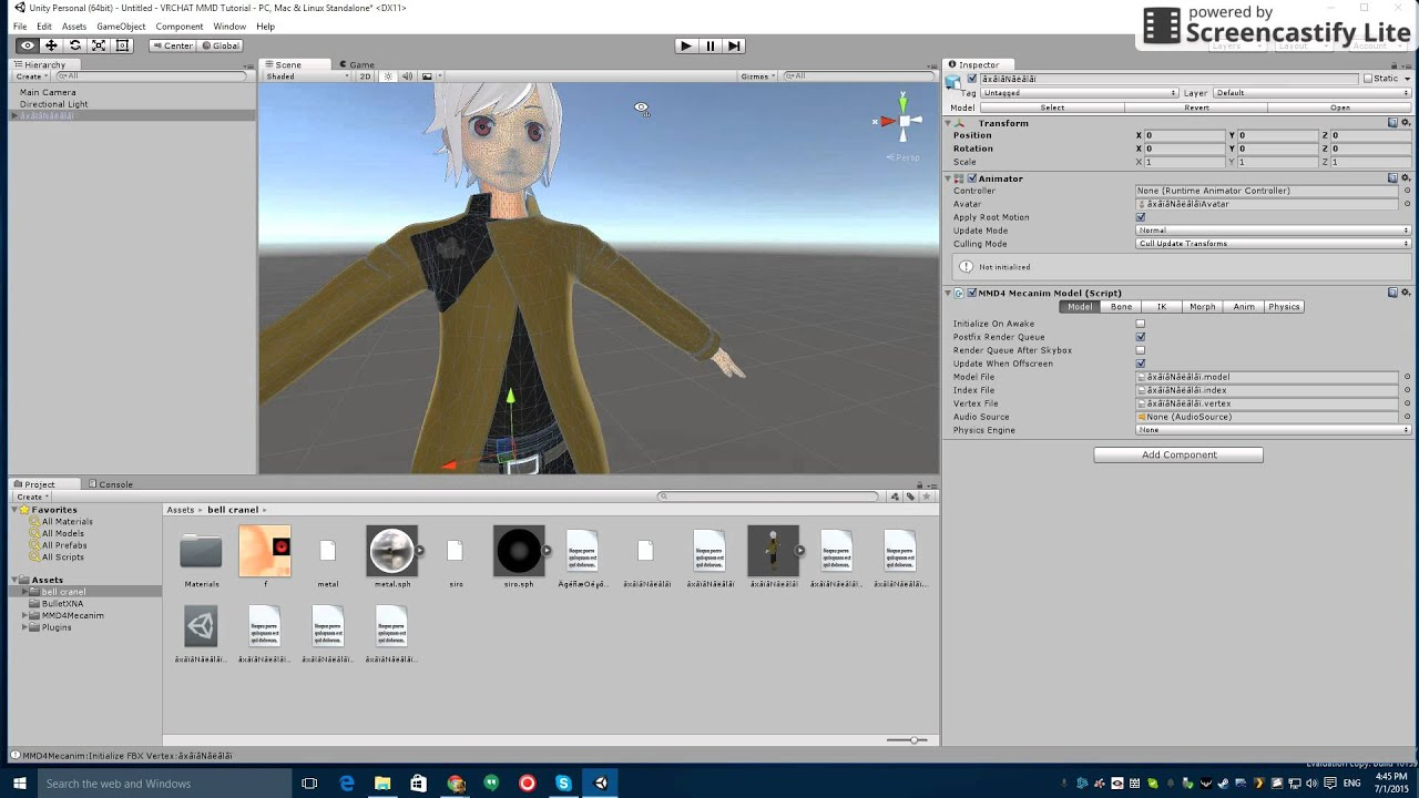 vrchat how to create a mmd avatar from scratch