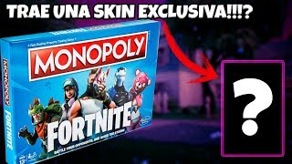 UNBOXING Monopoly from FORTNITE, INCLUDES A FREE SKIN!!!!? - Gunner496