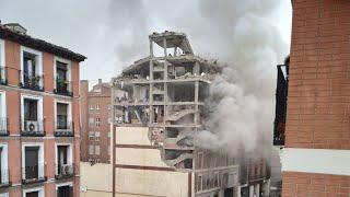 Fuerte explosión en la calle Toledo de  Madrid: dos fallecidos y varios heridos confirmados