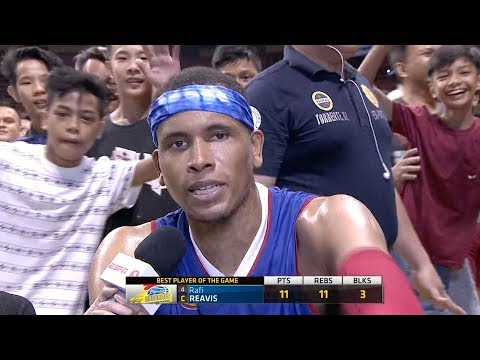 Best Player: Rafi Reavis | PBA Philippine Cup 2018