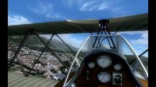 FS2004 | Flying Around | VFR France
