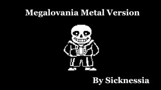 Megalovania Metal Version by Sicknessia (UNDERTALE)