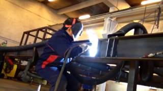 Welding mig mag 136(Root run & fill pass., 2013-01-04T17:52:56.000Z)