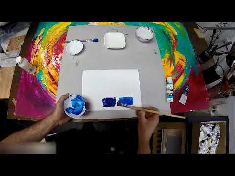 cours peinture à l'huile : différences entre dilution à l'eau et ... - Diluer Peinture Acrylique Avec De L Eau