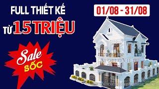 image Ngất Ngây Mẫu Nhà 2 Tầng Kiểu Pháp SO HOT Tại Bắc Giang