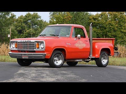 1978 Dodge D150 Li'l Red Express For Sale Piqua Ohio | CP15812T