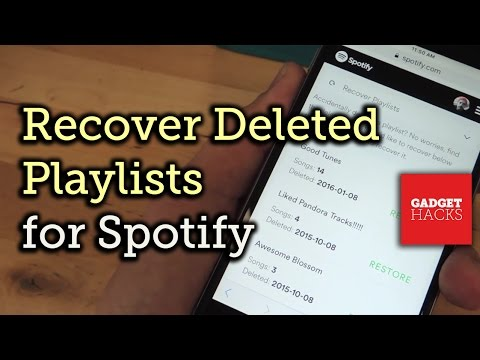 Recover Deleted Spotify Playlists [How-To]