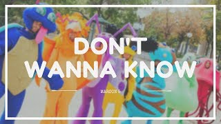 MAROON 5 - 'DON'T WANNA KNOW' ft. KENDRICK LAMAR Lyrics (SUB INDO) | COVER by RAJIV DHALL