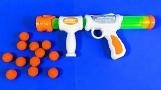 Caja de Pistola Aerodinámica con Municiones de Bolas de Espuma Juguetes para Niños -  TOYS REVIEW
