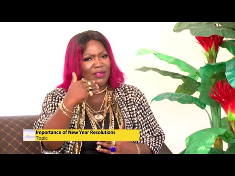 Importance of New Year Resolutions - Awaresem on Adom TV (11-1-21)