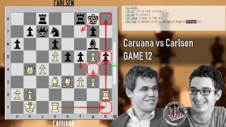 Caruana vs Carlsen - Live Stream - Live - Game 12 - One game to rule them all