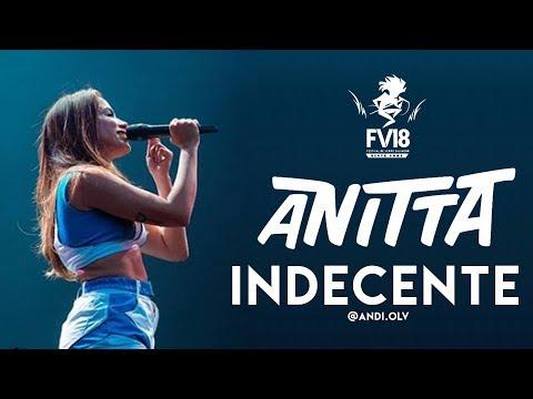 Anitta - Indecente - Festival De Verão Salvador 2018