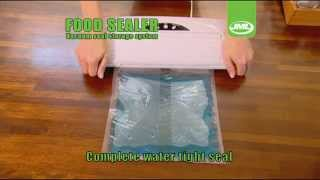 JML Vacuum Kitchen Packaging Food Sealer Storage System with Rolls