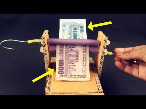 How to Make Money Changer Machine at Home| DIY Money Machine for Entertainment