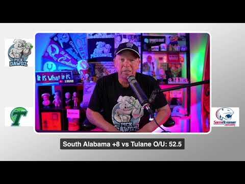 South Alabama vs Tulane 9/12/20 Free College Football Pick and Prediction  CFB Tips