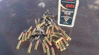 How many .22lr bullets will it take to go through bulletproof glass?