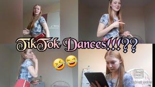Learning trendy TikTok dances!!!  July 2020