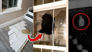 My house was vandalized.. (broken window)