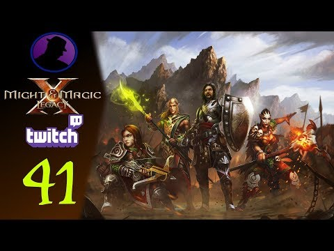 Let's Play Might & Magic X Legacy - (From Twitch) - Part 41 - So Many Shadows!