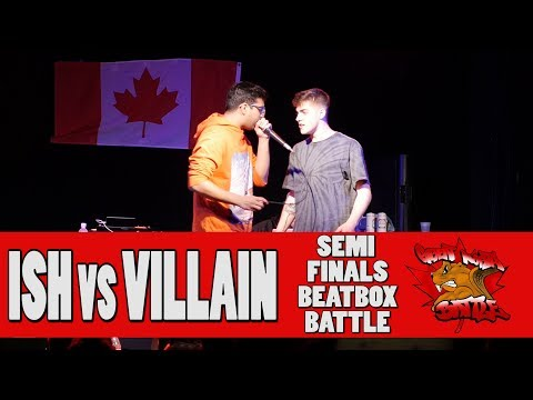 VILLAIN (USA) vs ISH (IND) - GNB 2017 - SOLO BEATBOX SEMI FINALS