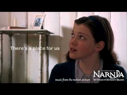 Carrie Underwood - There's A Place For Us (Lyrics) Narnia