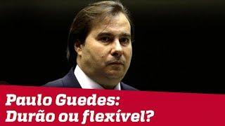Rodrigo Maia fala à Jovem Pan: 'Qual Paulo Guedes prevalece: o durão ou o flexível?'