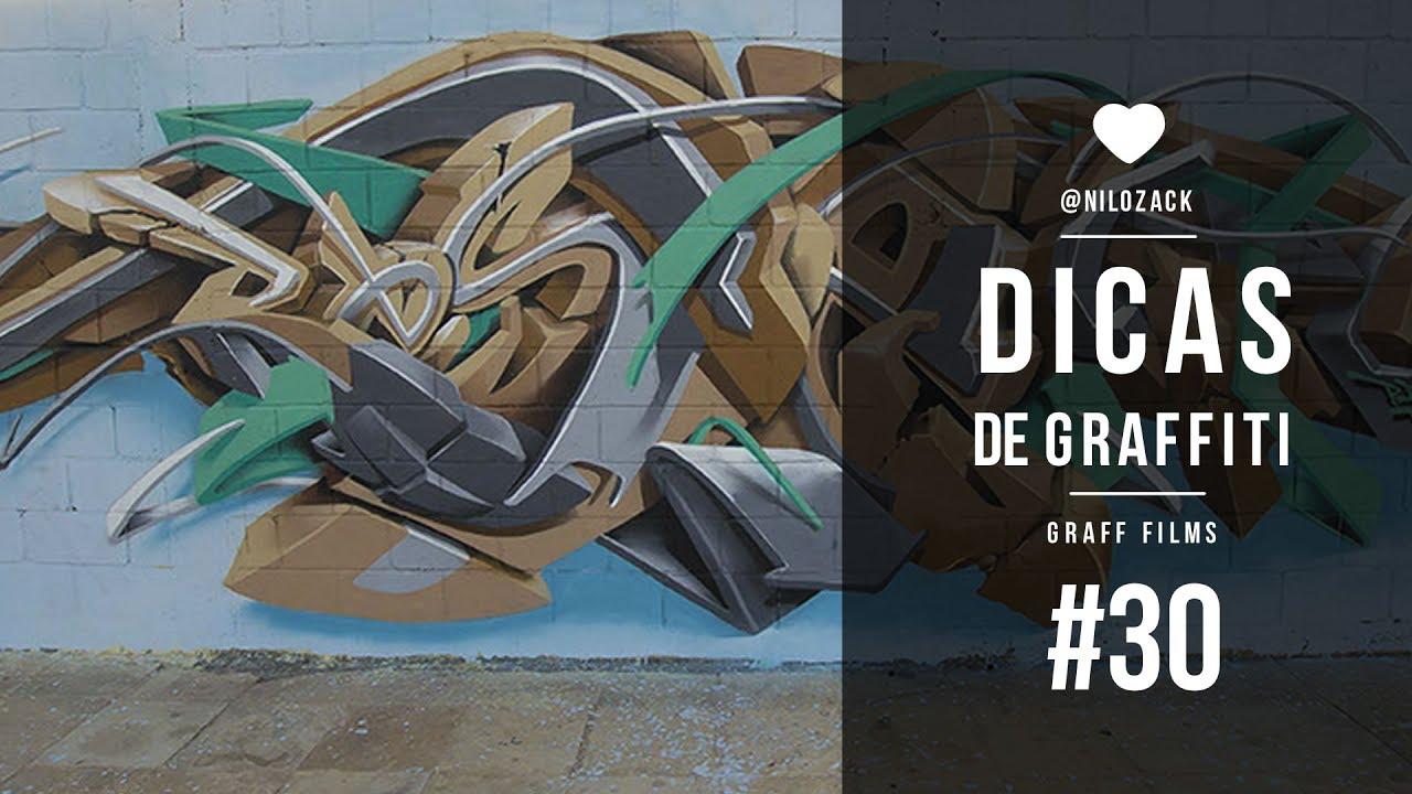 Dicas De Graffiti 30 Como Fazer Letras 3d Youtube