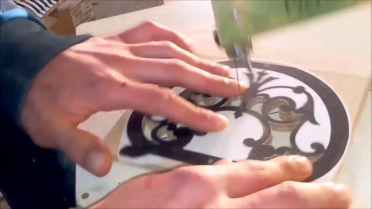 Tutorial traforo elettrico come si usa il traforo for Sifone elettrico per acquario fai da te