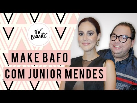 Maquiagem bafo com Junior Mendes - TV Beauté | Vic Ceridono