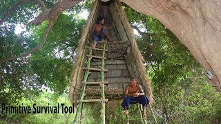 Build Double Storey Tree House