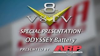 Rutledge Wood ODYSSEY Battery Interview SEMA 2015 V8TV