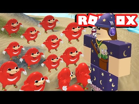 UGANDA KNUCKLES IN ROBLOX- WE HAVE FOUND OUR QUEEN - 동영상