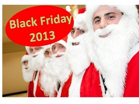 Black Friday Santas: 2013