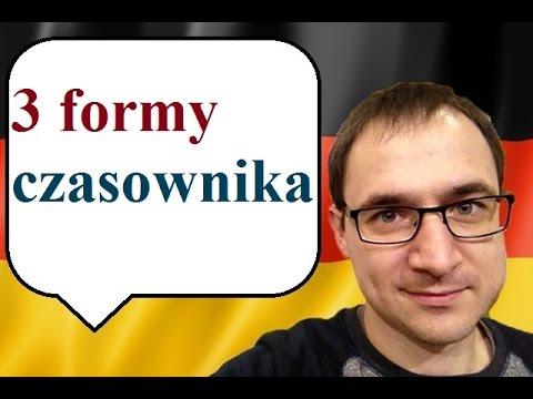 3 formy czasownika - język niemiecki - gerlic.pl