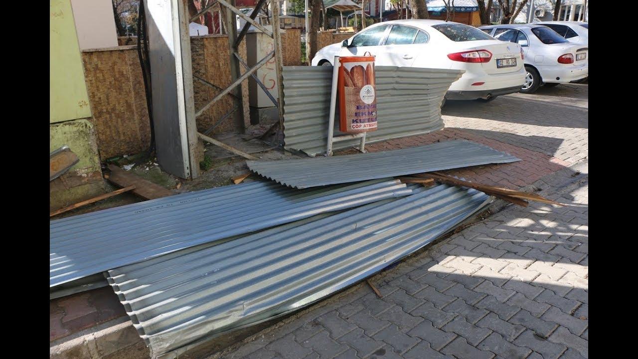 Adıyaman'da Şiddetli Rüzgar Hayatı Olumsuz Etkiliyor