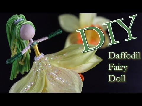 DIY Daffodil Fairy Doll   Dollmaking   Flower Fairy   Untidy Artist