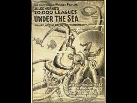 20000 Leagues Under The Sea - 1916 Film - NO SOUND