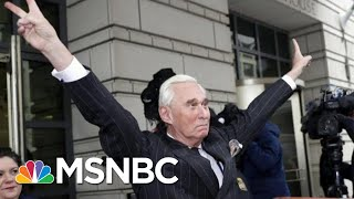 Joe: Are You Really Cool With Roger Stone's Crosshair Picture?   Morning Joe   MSNBC