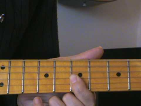 Cours de guitare Blues Nr 2 (Lick Blues 2 )