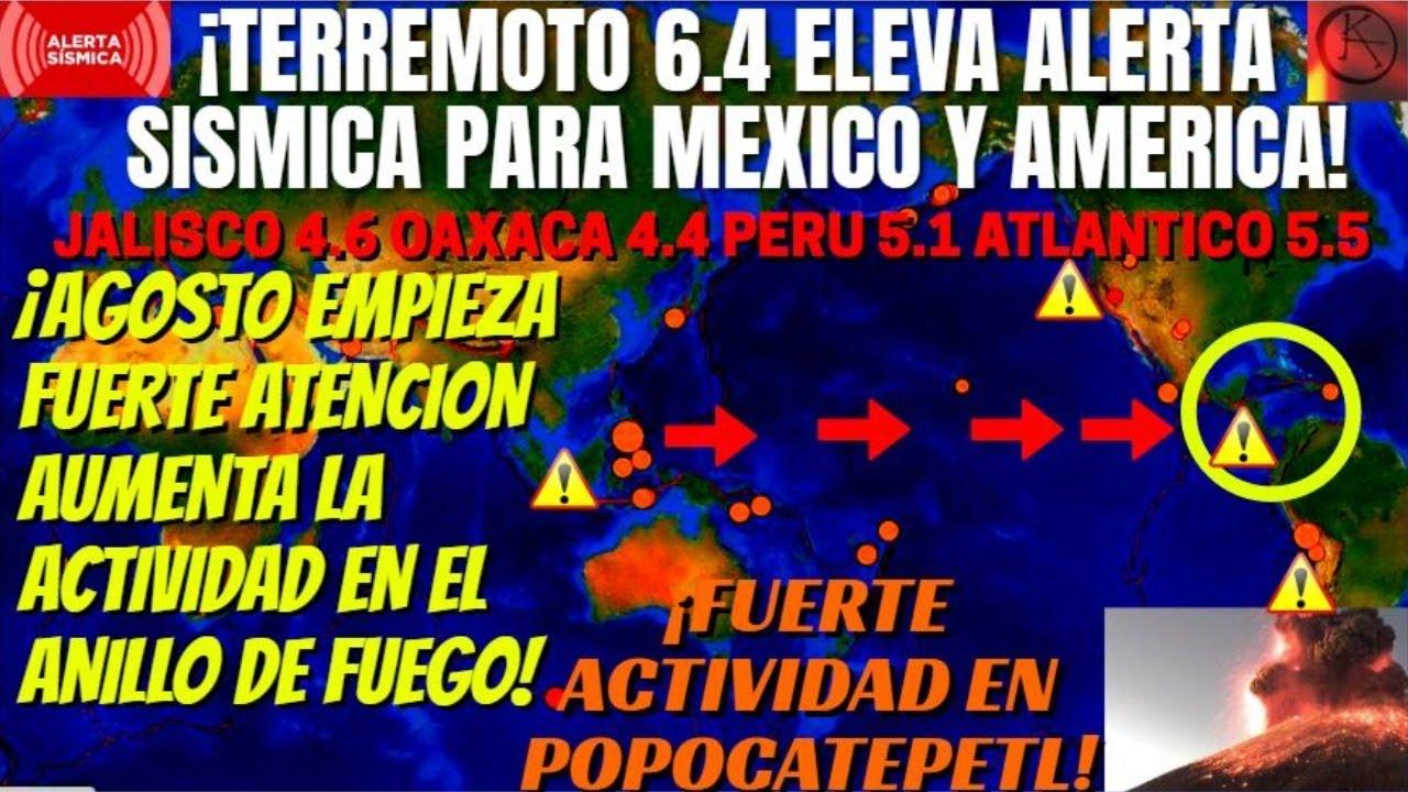 ¡URGENTE FUERTES SISMOS 6+ SACUDEN EL ANILLO DE FUEGO ALERTA SÍSMICA GLOBAL! ¡SISMO EN VENEZUELA!